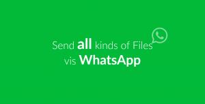 Dateiformate die WhatsApp unterstützt